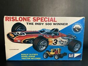 MPC Rislone Special INDY 500 Winner 1/25 scale model kit OPEN BOX USED