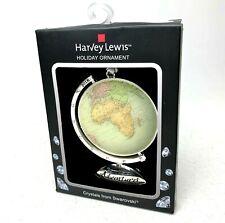 Swarovski Crystals Globe Ornament - Harvey Lewis 2018 Empty Nesters Adventure