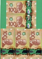 2011 Bank of Canada 100 dollar Wilkins Poloz PURCHASE MORE THAN 1 IN SEQUENCE