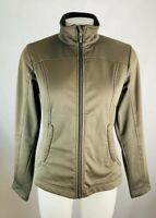 Patagonia Small Women's Soft Shell Jacket Coat Brown Full Zip Up