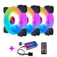 COOLMOON F-YH Computer Case Ventola di Raffreddamento PC RGB Regola 120Mm S V6I6
