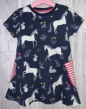 Girls Age 3-4 Years - Mini Boden Summer Dress - Unicorns