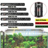 LED Microchip Digital Control 100W 300W 500W Aquarium Heater Anti-Explosion A