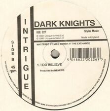Dark Knights – Piece Of Mind - Intrigue Records – IGE: 22T - UK 1991