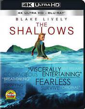 The Shallows (DVD, 2016, 4K Ultra HD Blu-ray/Blu-ray)
