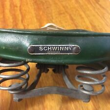 SCHWINN APPROVED SEAT GREEN FIT ROAD BIKE, SPEEDSTER SUBURBAN & OTHERS