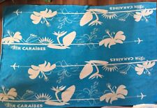 AIR CARAIBES Airline Inflight Blanket