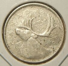 1964~~CANADIAN 25 CENTS~~SILVER~~SCARCE~~CANADA