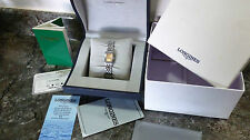 VERY RARE Longines Dolce Vita Womens/ladies watch Salmon Dial, Box & Papers