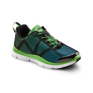 Dr. Comfort Katy Women's Therapeutic Extra Depth Athletic Shoe: Green/Turquoi...