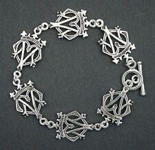 Pewter Celtic Bold Scottish Luckenbooth Bracelet