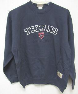 NFL Houston Texans Blue Crew Neck Sweatshirt size Medium by VF Imagewear