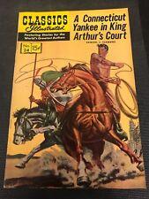 classics illustrated 24 Comics Book Hrn 167  Yankee King Courts High Grade
