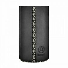 Bugatti Black Cross Case Sleeve Pouch for iphone 4 4S