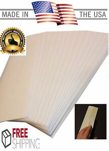"""30 Golf Club Grip Tape Strips Double Sided 2""""x 10"""" Premium Easy Peel Made in USA"""