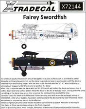 Xtra Decals 1/72 FAIREY SWORDFISH British Carrier Bomber