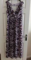PROJECT D SIMPLY BE FLORAL LINED MAXI DRESS SIZE 16 NEVER WORN. GORGEOUS!