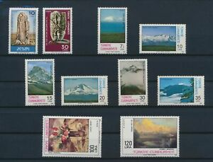 LN72021 Turkey paintings views landscapes fine lot MNH