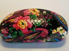 MAX STUDIO.Com Hard Shell Eyeglass Case Paisley Floral