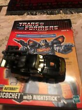 Hasbro Transformers Autobot Ricochet With Nightstick Series Ix Action Figure