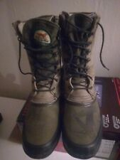 MENS RED WING IRISH SETTER HUNTING WINTER BOOTS SIZE 10.5 COMOUFLAGE USA MADE