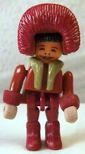 😀😀 FERRERO Eskimo rot Gliederpuppe Ü-Ei Überraschungseier Figur vor 1997 😀😀