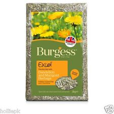 BURGESS EXCEL TIMOTHY HAY WITH DANDELION & MARIGOLD RABBIT GUINEA PIG CHINCHILLA