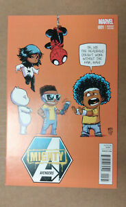 MIGHTY AVENGERS #1 1st Printing - Young Variant - Monica Rambeau   / 2013 Marvel