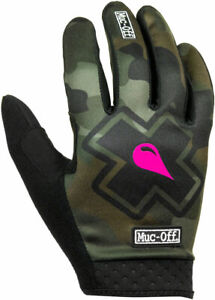 Muc-Off MTB Gloves - Camo, Full-Finger, Small