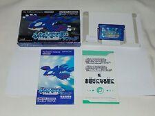 Game Boy Advance JAP Pokemon Shappire U1415