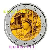 2 €   AUTRICHE  COMMEMORATIVE    1  X  PIECE    2018    NEUVE   /     2018  2018