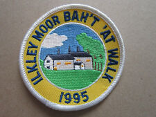 Ilkley Moor Bah't 'At Walk 1995 Walking Hiking Cloth Patch Badge (L3K)
