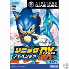 Sonic Adventure DX Nintendo gamecube GC Import Japan