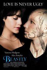BEASTLY - 2-sided orig US 27x40 movie poster- VANESSA HUDGENS, ALEX PETTYFEAR