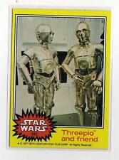1977 Star Wars Series 3 Yellow Single Card # 187 NM straight from a wax Pack