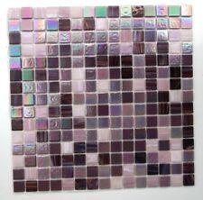 Piastrelle Mosaico Di Vetro Lilla lustro iridescente Multi Colore Sheen