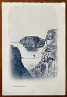 Carrick-a Rede Rope Bridge Ballintoy Postcard Co Antrim Northern Ireland