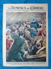 La Domenica del Corriere 24 luglio 1949 New York-Los Angeles - Ostenda - F.Coppi