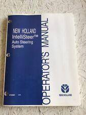 New Holland IntelliSteer Auto Steering System Operators Manual