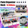 15/80 Holes Wooden Paints Bottles Storage Rack Holder Modular Color AL SO