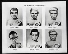 THUNDERBIRDS Gerry Anderson cast Virgil Alan Brains Duplicate Photo NEGATIVE