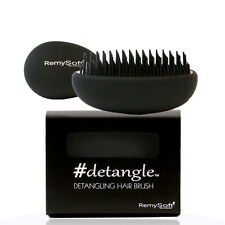 RemySoft Detangling Hair Brush #detangle (Fade to Black) Professional Detangler