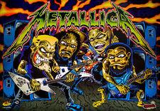 Metallica Pinball Playfield Light mod BLUE