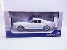 63667 Solido 1802901 Shelby Mustang GT500 1967 weiss Modellauto 1:18 NEU in OVP