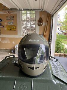 Icon Moto Operator Helmet