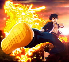 """535 One Piece - ACE OP Luffy Fighting Japan Anime 15""""x14"""" Poster"""
