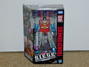 2018 Transformers Generations Siege War for Cybertron Trilogy Starscream MIB New