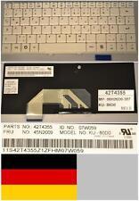 Clavier Qwertz Allemand LENOVO S9 S10 MP-08H26D0-387 42T4355 45N2009 Blanc