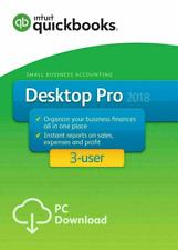 INTUIT QuickBooks Desktop Pro 2018 🔥 70%OFF  🔥 3 User 🔥