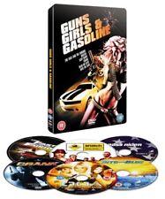STEELBOOK  6-Disc film box-set Fast and Furious Snatch Easy Rider Crank DOA Blue